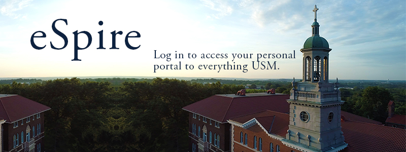 eSpire: Log in to access your personal portal to everything USM.